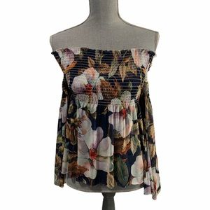 Another Story Floral Kimono Sleeve Top Size XS